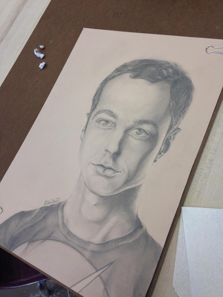 Dr. Sheldon Cooper by artistdarleese