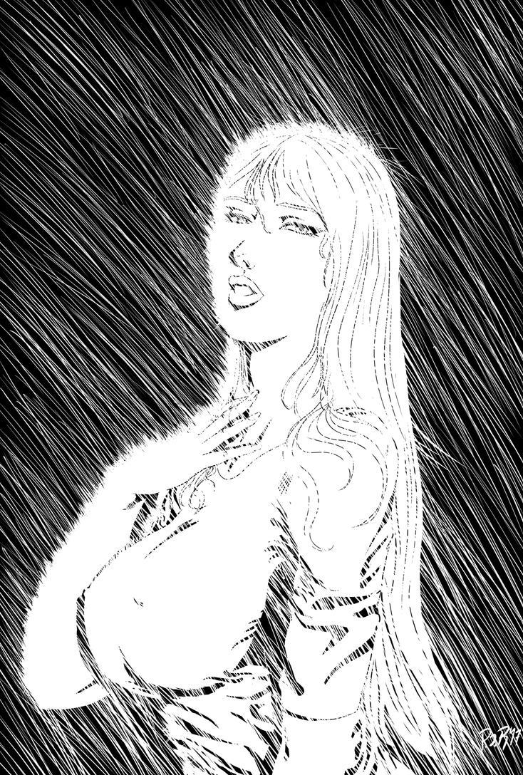 Neon Rain by DRAKE7018