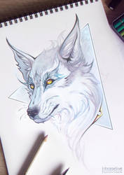 Cosmic Wolf by Inteaselive