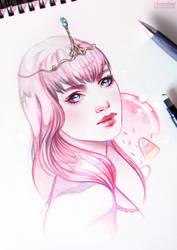 Princess Bubblegum by Inteaselive