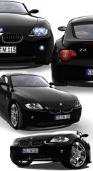 BMW Z4 Collage by Digoma