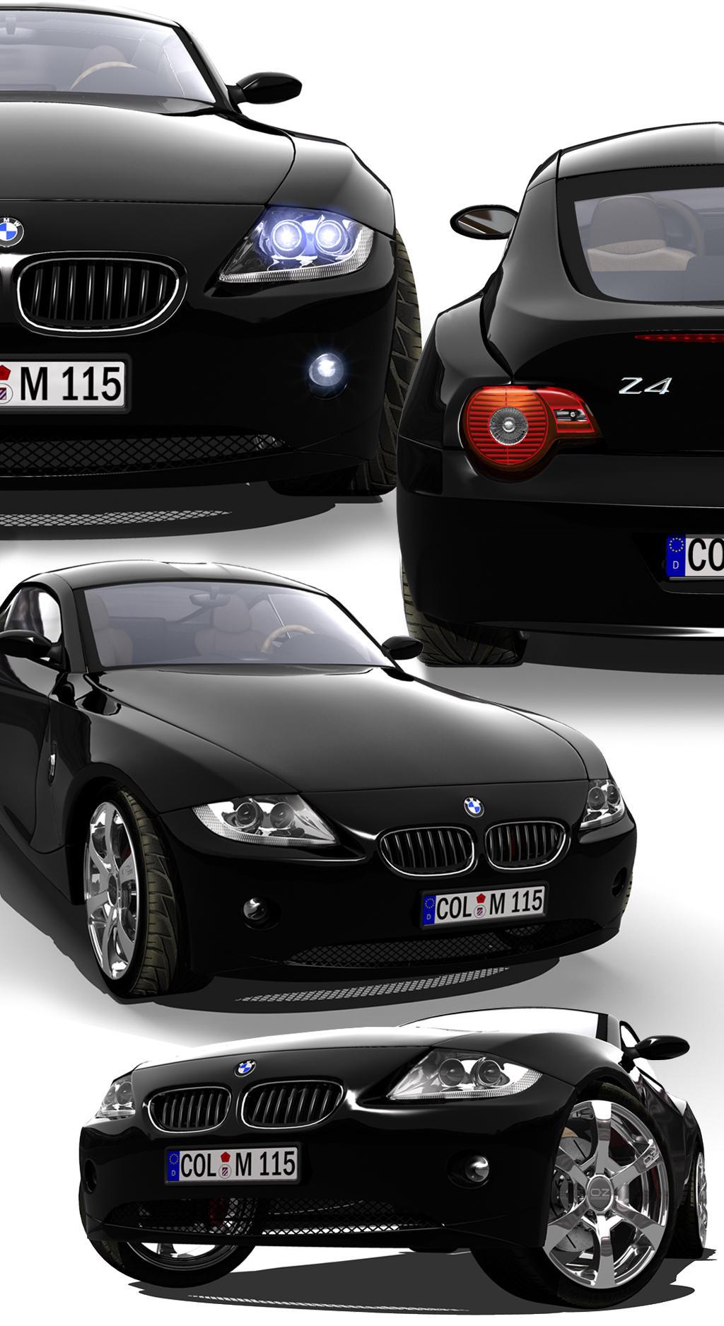 BMW Z4 Collage by Digoma on DeviantArt