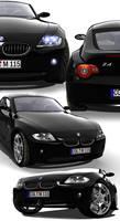 BMW Z4 Collage by Digoma