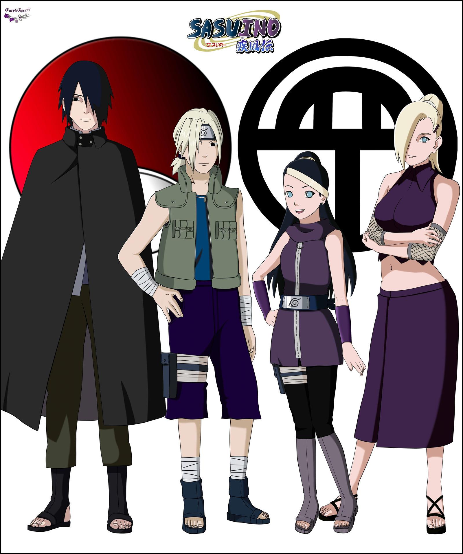 Sasuke x Ino on SasukesGirls - DeviantArt  Sasuke x Ino on...