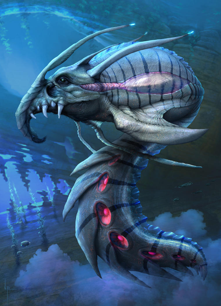 Underwater creature by ~danielvijoi