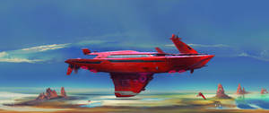 U.S.S. Desert Hawk by danielvijoi