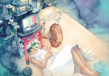 Sleepless Night by syuka-taupe