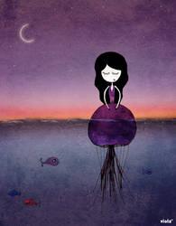 jellyfish girl by Freeedom