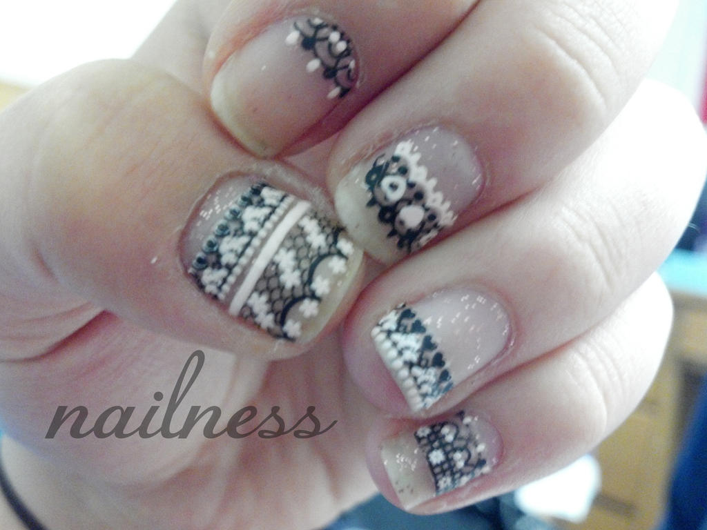 30 Day Nail Art Challenge - Day Fifteen - Delicate by SammyRae on ...