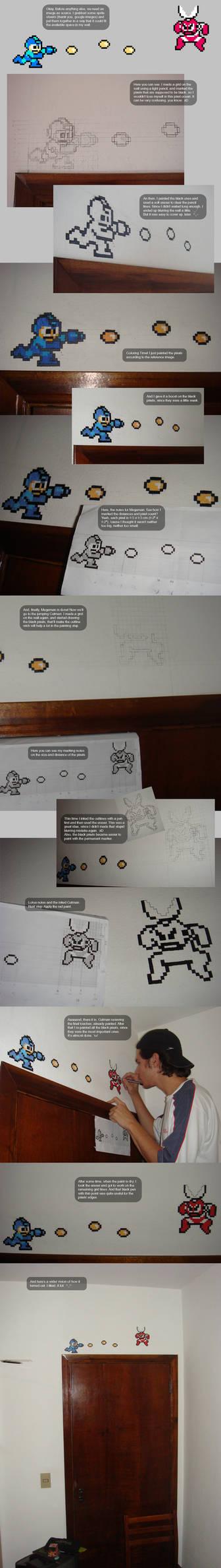 Megaman Painting Walkthrough