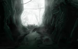 Amazone Cave by Alexvanderlinde