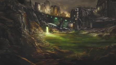 Toxic Canal by Alexvanderlinde