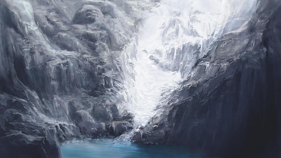 Glacier by Alexlinde