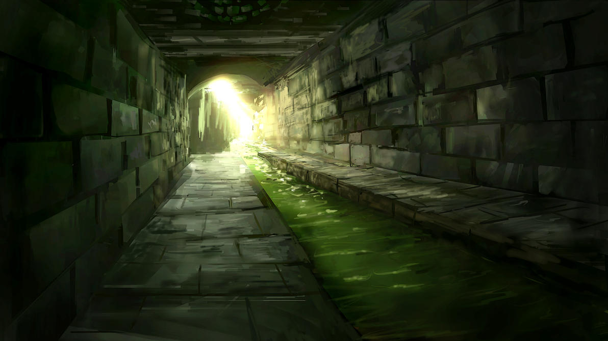 Le magicien et le polymorphe [Mister Miracle] Sewer_exit_by_alexlinde-d4xz30t
