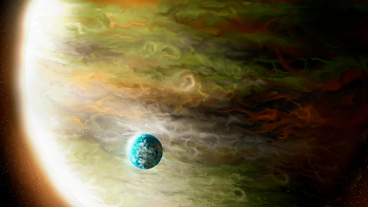 Gas Giant by Alexlinde