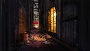 Dark-Alley by Alexvanderlinde