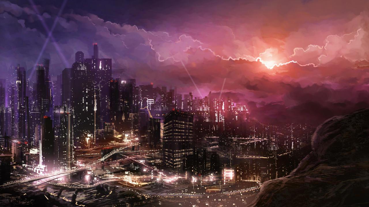 Metropolis by Alexlinde