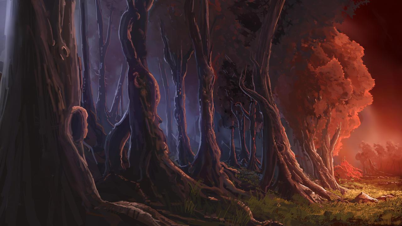 Merging Forest by Alexlinde