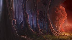 Merging Forest by Alexvanderlinde