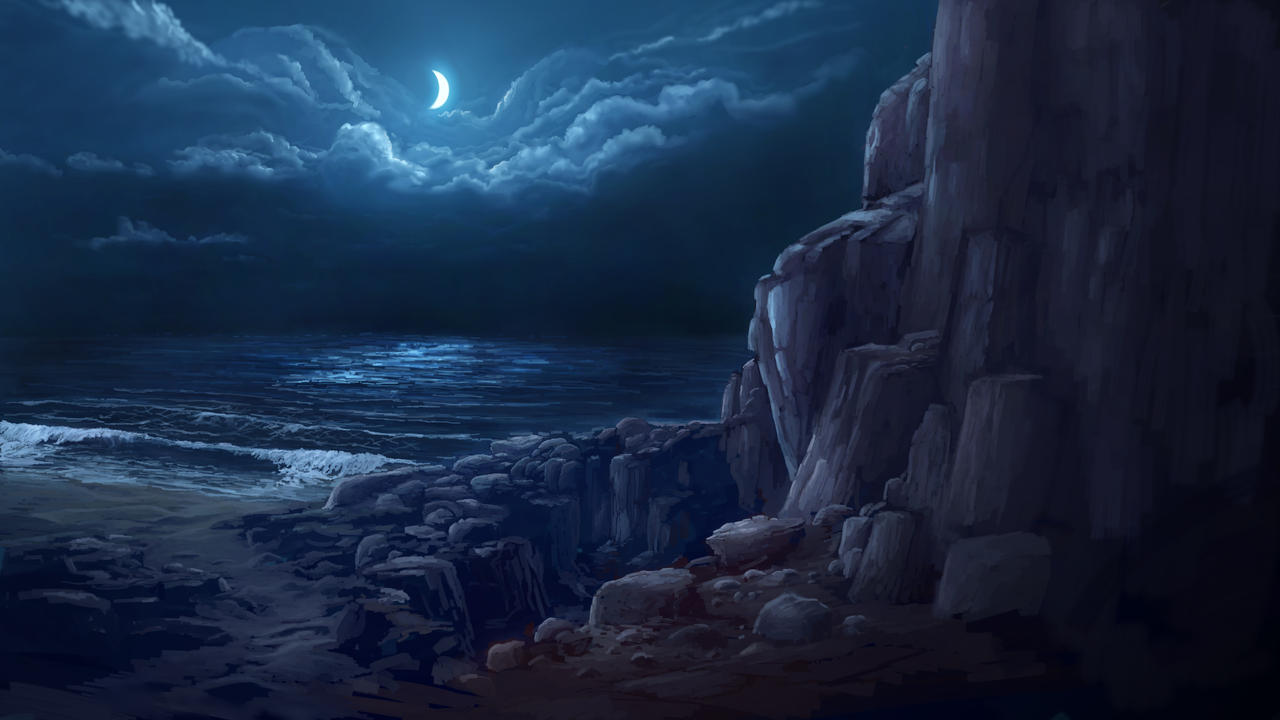Night Coast by Alexlinde