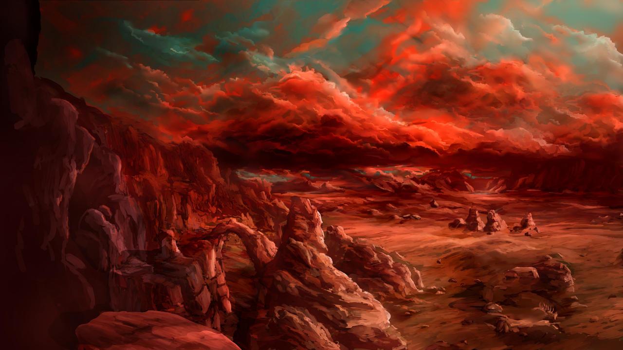 Wasteland by Alexlinde