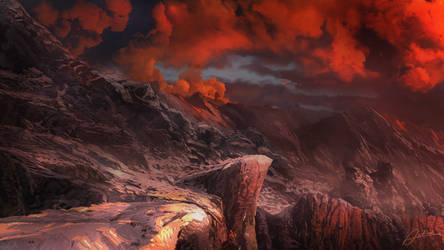 Orange Heights by Alexvanderlinde