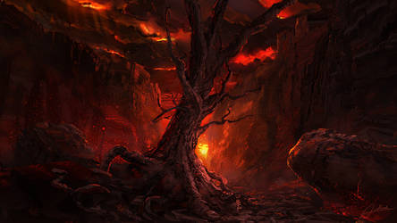 Scorched Tree