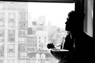 ESB 20/South - Silhouette at Lunch by FennecFoxen
