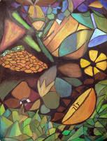 leafy birthday by FennecFoxen
