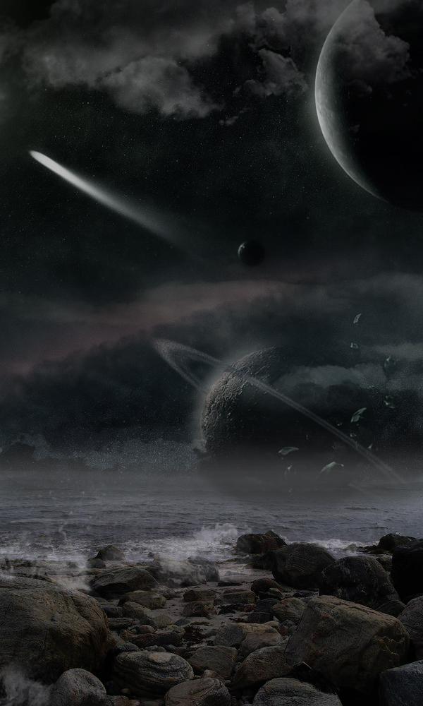 night sky by ALiceFaux