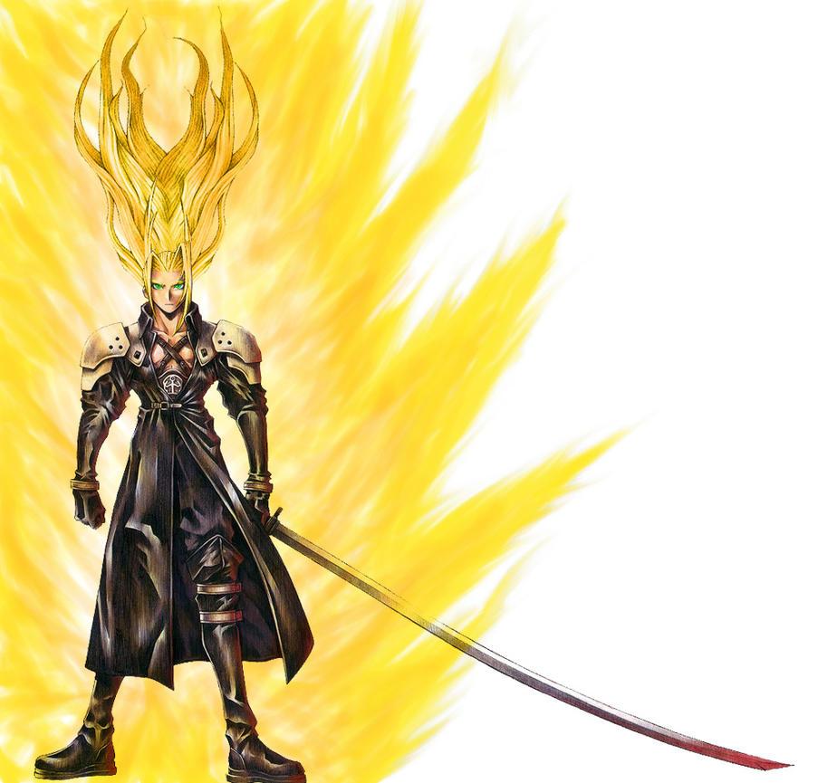 Super Saiyan Sephiroth O By Osa Soft