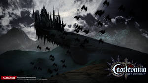 Castlevania Cross Of Dimensions Wallpaper 03 by houssamica