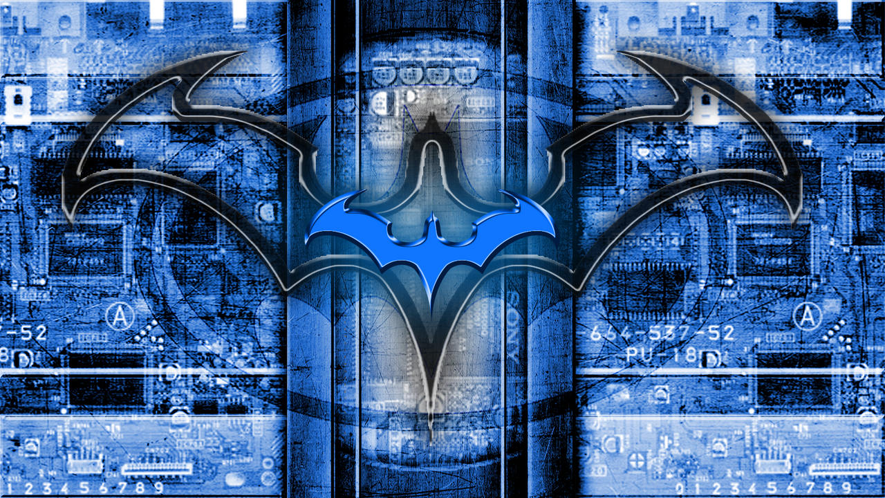 nightwing wallpaper for smartphones by houssamica on