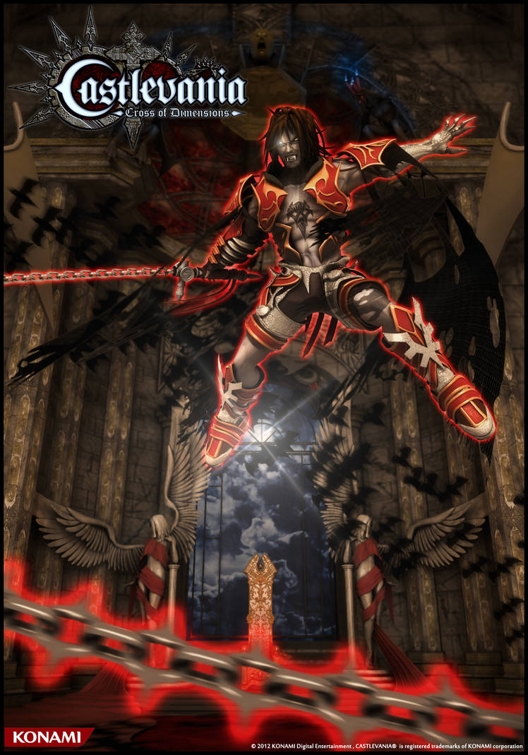 Castlevania Cross Of Dimensions Poster 05 by houssamica