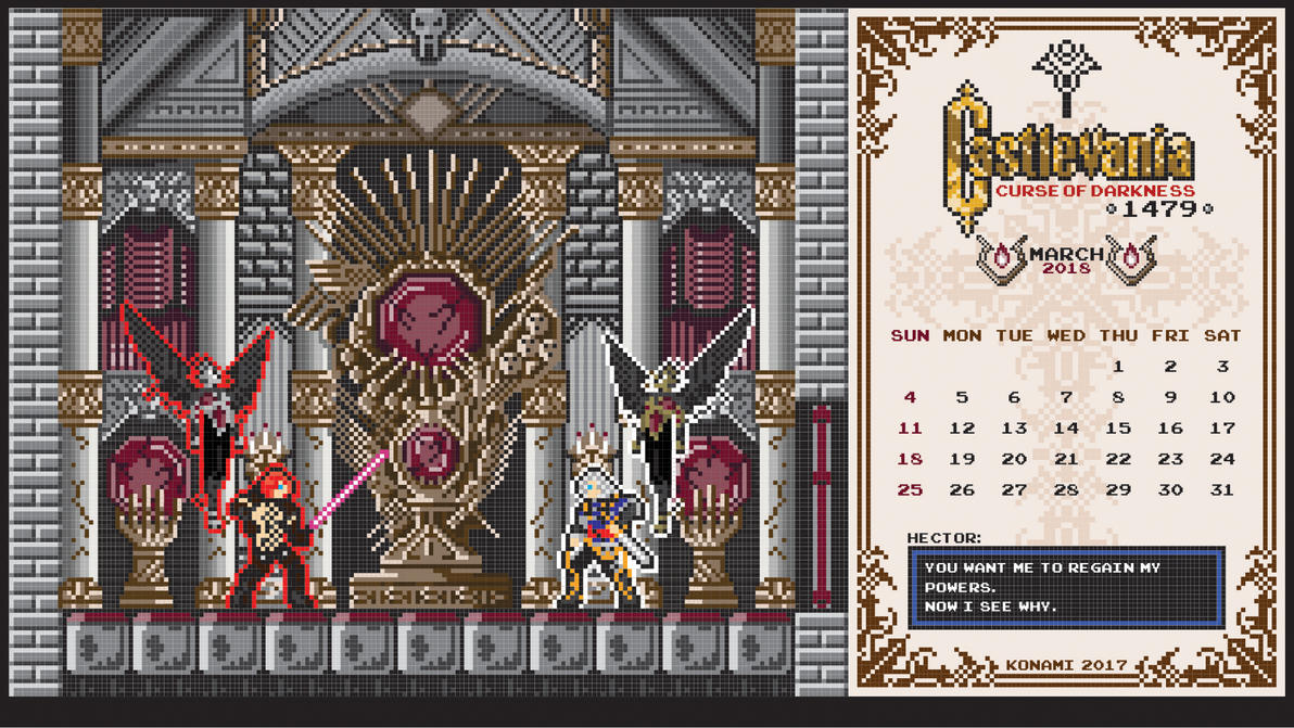 Castlevania Tides Of Times March 2018 by houssamica
