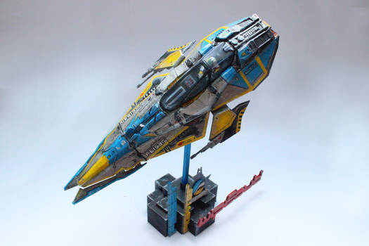 3D Printed Feisar Fighter From Wipeout 2048 07