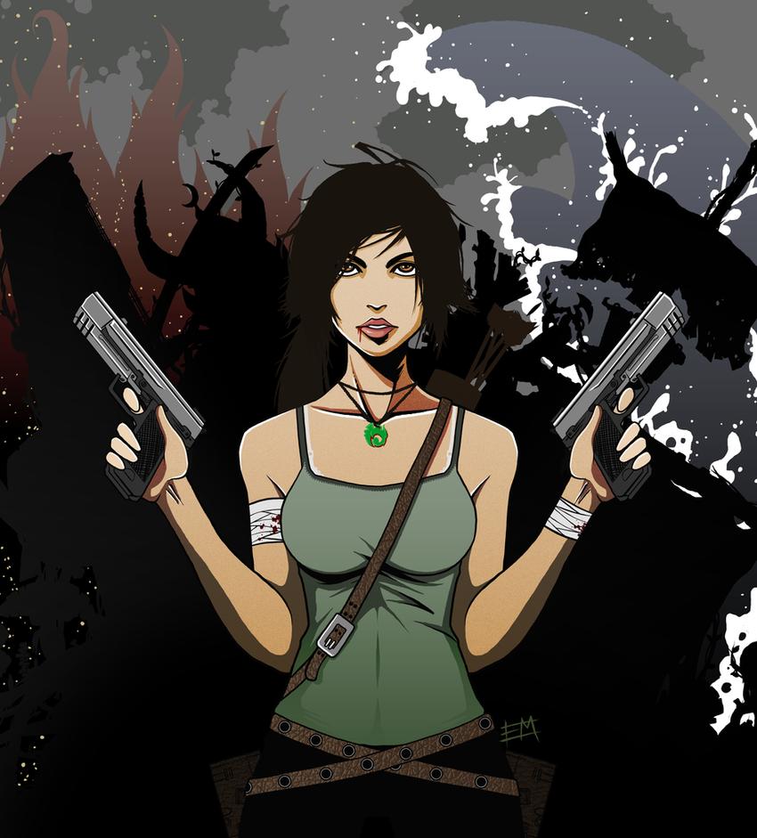 Tomb Raider Reborn contest entry by EdMoffatt