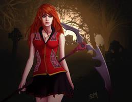 Updated Scythe Girl 2013