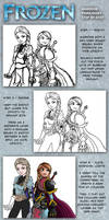 Step by Step - Frozen Warrior Princesses