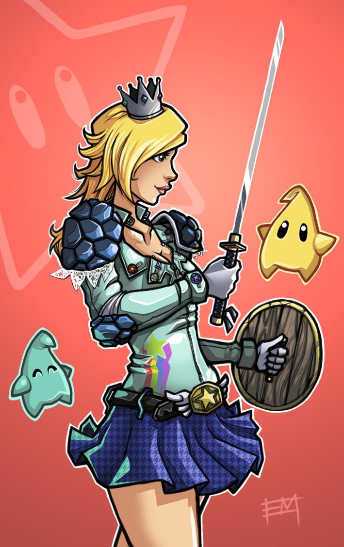 Warrior Princess Rosalina by EdMoffatt
