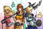 Mario Princess Warriors