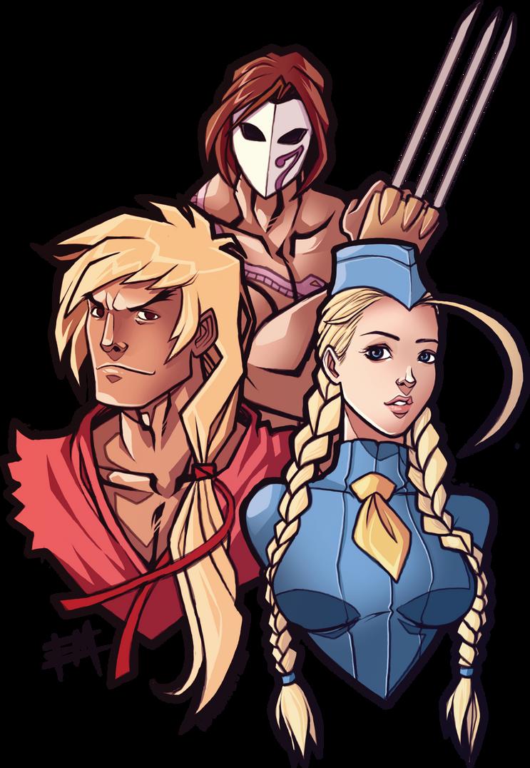 Street Fighter Alpha by EdMoffatt