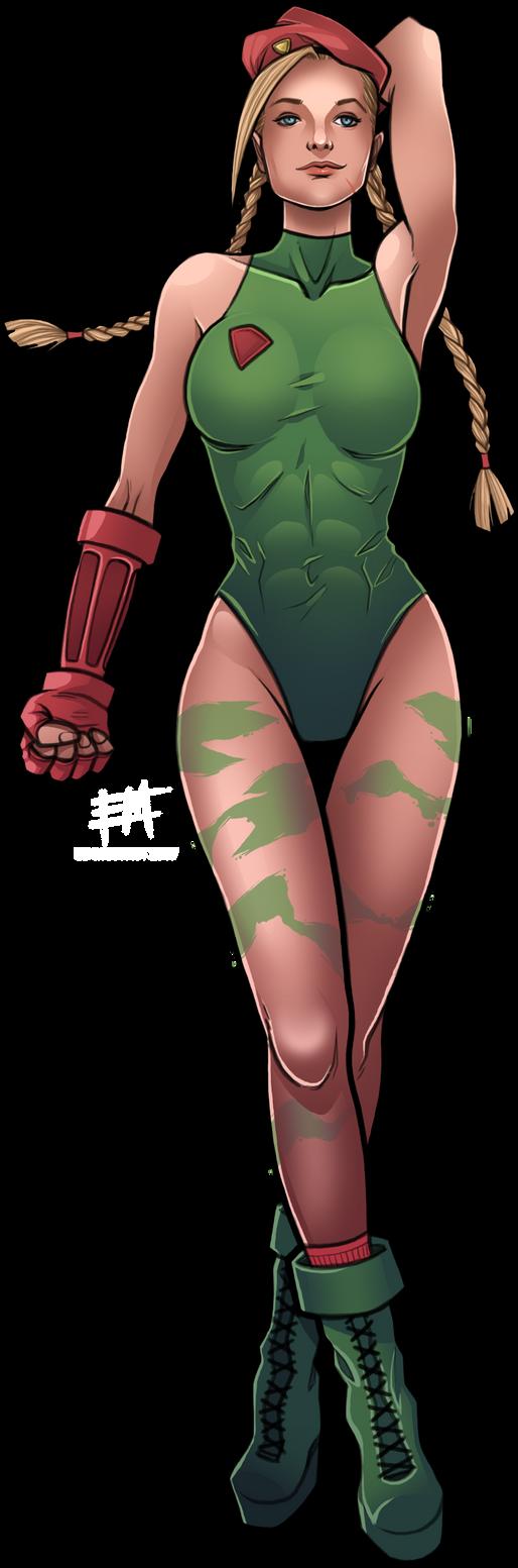 Cammy White - Super Street Fighter 2 by EdMoffatt