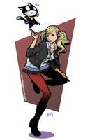 Ann and Morgana by EdMoffatt