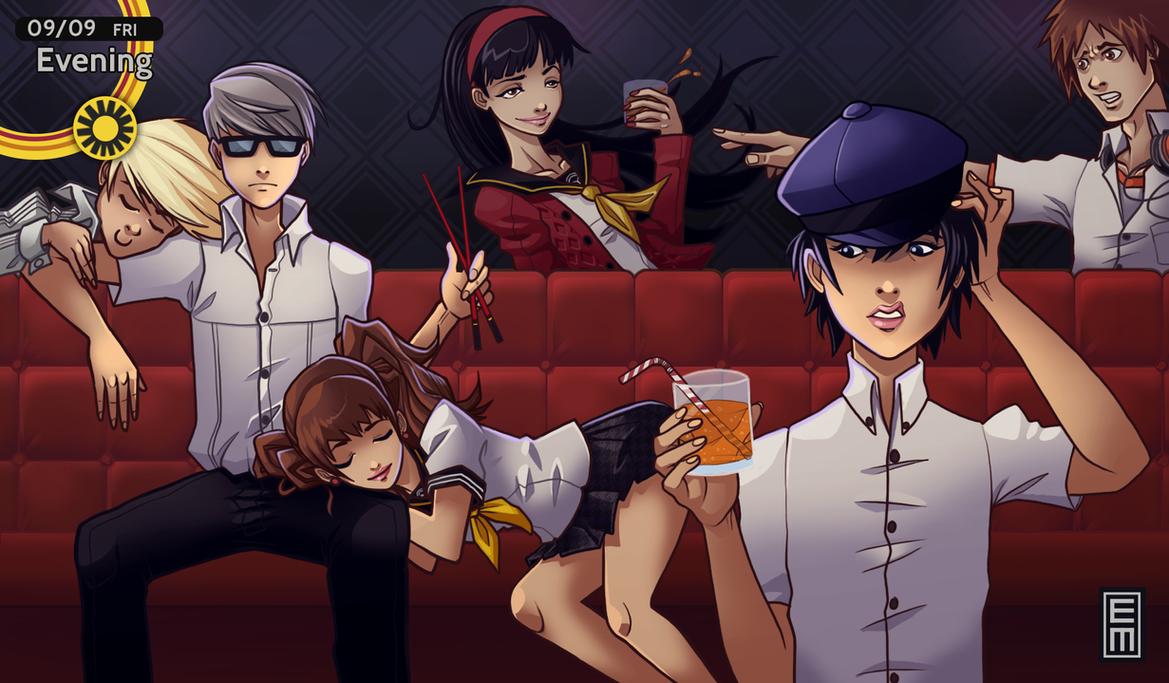 Persona 4 - King's Game by EdMoffatt