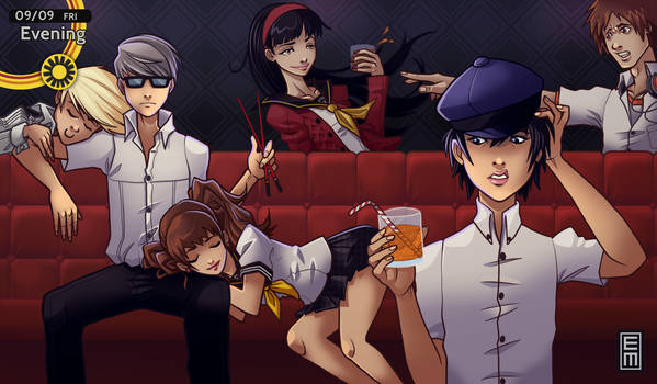 Persona 4 - King's Game