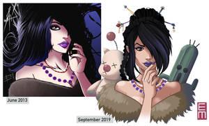 Lulu Drawn Again by EdMoffatt