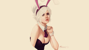 Bunny Girl Riven - Wallpaper