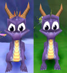 spyro - face comparison