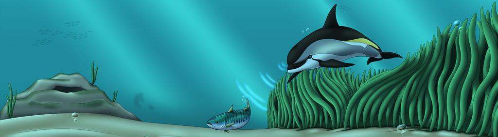 [1600]Davo Chasing fish Journal Header by Sabre471